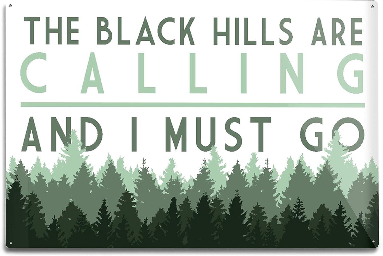 Lantern Press Black Hills 新作通販 超特価SALE開催 South The Dakota are Cal