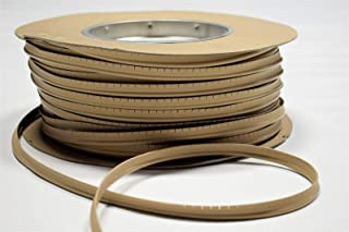 Beige Vinyl Welt Cord Piping Marine Auto Fabric Boat Upholstery 10 Yards