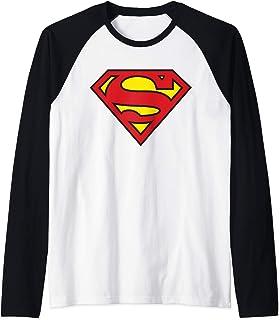 US DC Superman + Logo Classique 01 Manche Raglan