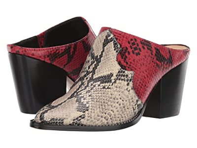 Schutz Destiny (Natural/Scarlet Snake) Women