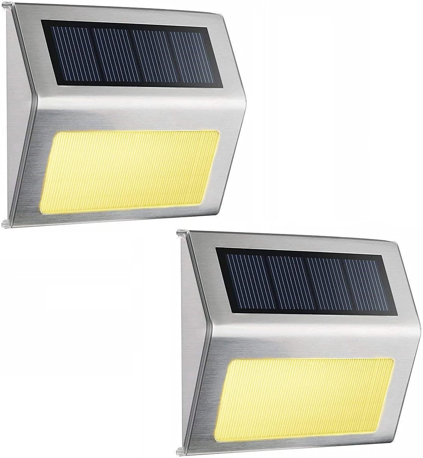 Warm White Max 78% Today's only OFF Solar Step Lights for Fences Stairs Pathwa Post Decks