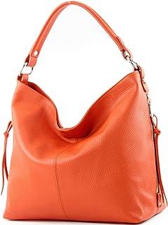 modamoda de - ital Shopper Bolsa de hombro grande de cuero T160