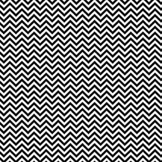 Siser EasyPatterns Heat Transfer Vinyl HTV for T-Shirts 18 by 12 Inches (Chevron Black and White)