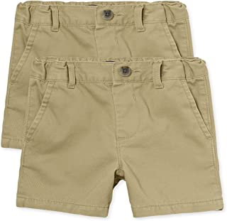 The Children's Place Baby Boys' Chino Shorts, Pack of Two