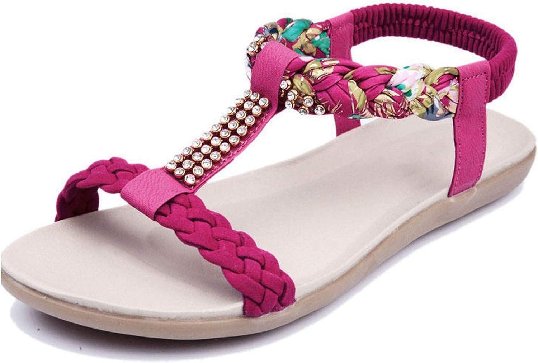 Women Sandals Women shoes Flat Sandals Women Rhinestones Ladies shoes
