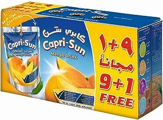 Capri Sun Mango (9+1) Promo- Pack of 10 x 200 ml