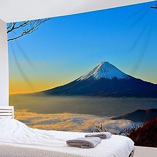 LB 自然風景タペストリー 天晴れの富士山と雲海 おしゃれ 壁掛け インテリア 多機能 布ポスター 部屋飾り 玄関 個性ギフト 新居祝い 150x100cm