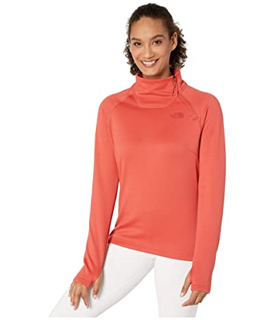 The North Face Canyonlands 1/4 Zip (Sunbaked Red) Women