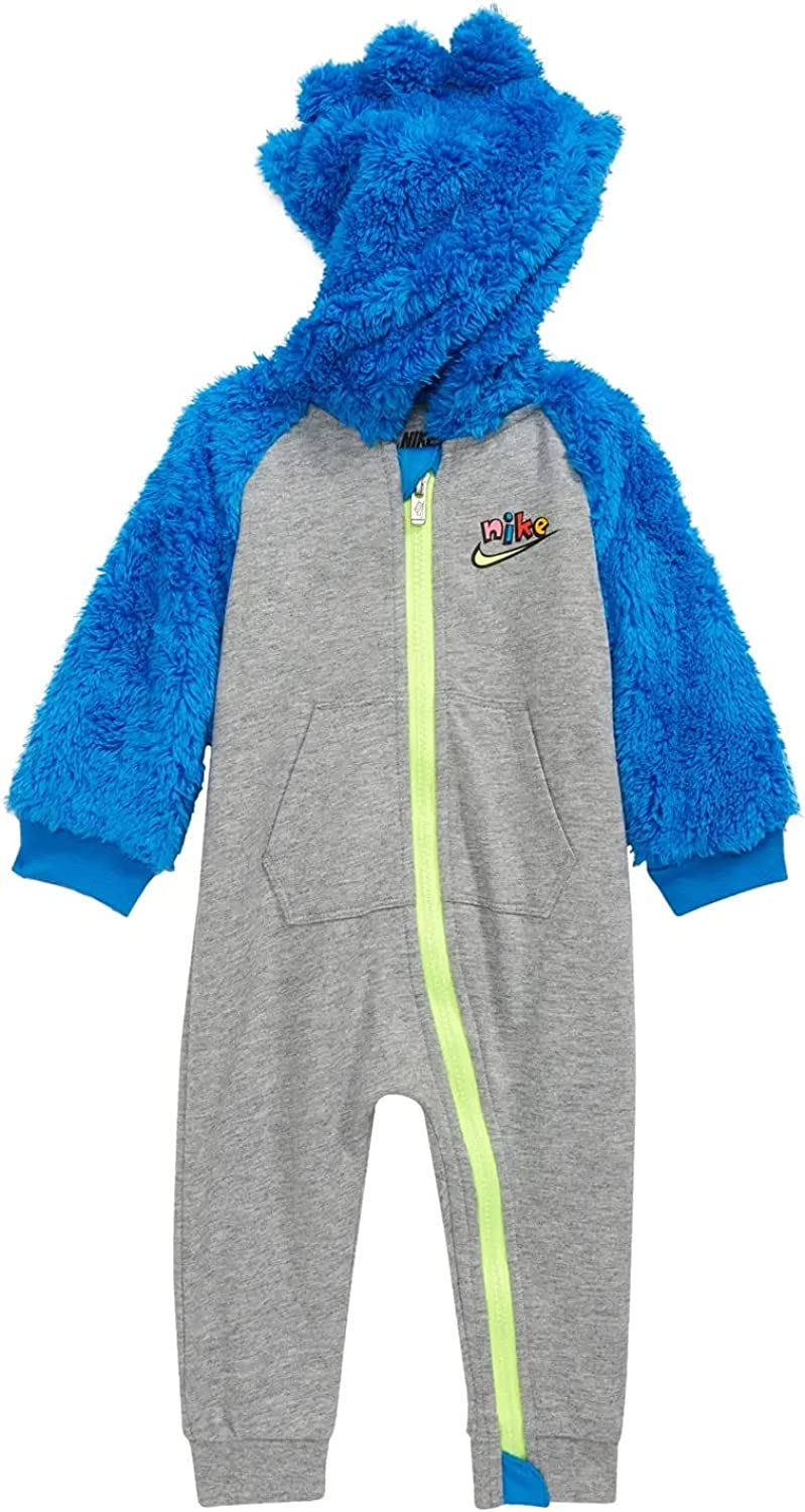 Nike Baby Boy's Sherpa Long Sleeve Hooded Coverall (Infant)