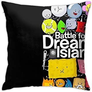 KIILA Bfdi Poster Black Home Decorative Throw Pillow Cases Sofa Couch Cushion Throw Pillow Covers 18x18 Inch