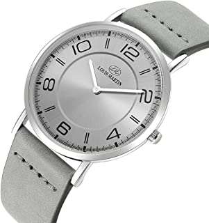 Men's Watch by Louis Martin Round Shape Leather
