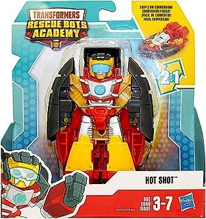 Hot Shot Transformer Rescue Bots Academy Robot to Hovercraft 4.5