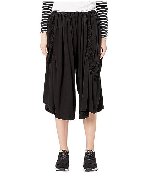Y's by Yohji Yamamoto M-Asymmetry Gather Pants