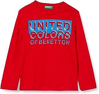 United Colors of Benetton T-Shirt M/L Camiseta de Manga Larga para Niños