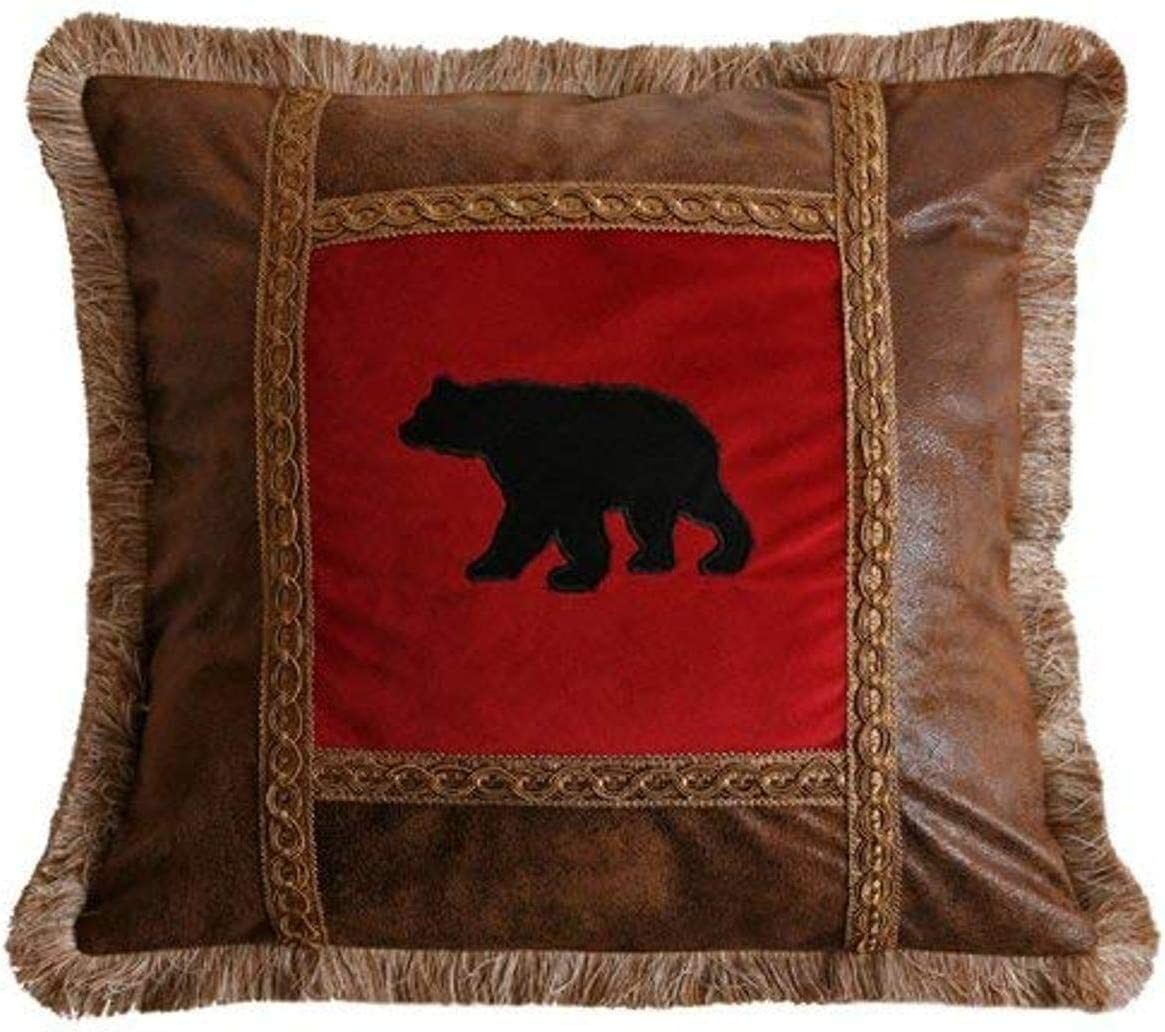 Carstens Applique Excellent Max 87% OFF Pillow Bear