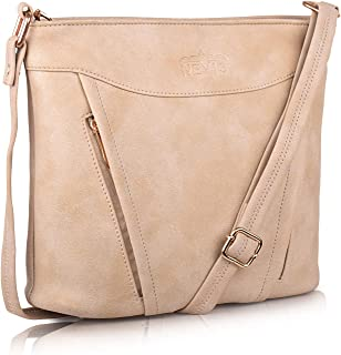 Nevis Synthetic Leather Trendy Simple Crossbody/Slingbag For Women