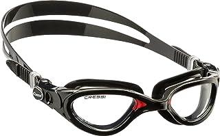 Cressi Flash Occhialini Nuoto a Oculari Separati con Lenti Infrangibili