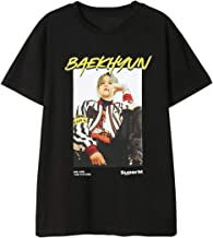 Dolpind Kpop SuperM Same T-Shirt Baekhyun Taemin Taeyong Mark Lucas Kai Ten Tee Shirt