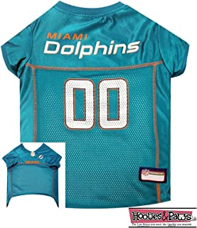 MIAMI DOLPHINS Dog Mesh Jersey ALL SIZES Licensed NFL (Large)