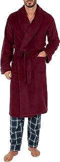 mens Comfort-soft Fleece Robe