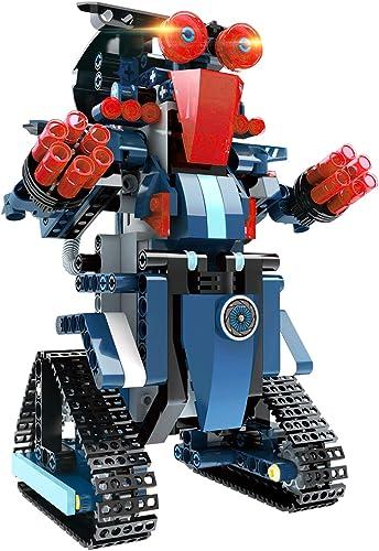 Kit Robot Jouet, Blocs de Construction pour Enfants Robot de Télécommande Créatif Divertissant Jouet D'éducation Préc...