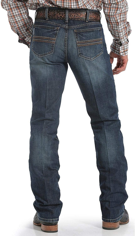New Shipping Free Shipping Cinch Men's Silver Label Nashville-Davidson Mall Dark Jeans Stone Performance Wash