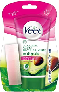 [Non-medicinal products] Veet Veet Naturals Bathtime Hair Removal Cream 150g for normal skin