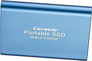 B Blesiya Externe solid-state drives, 1 TB, SSD-uitbreiding, 2,5 inch aluminiumlegering, compatibel met laptopcomputer, blauw