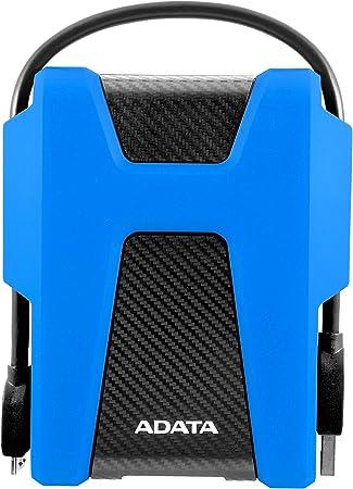 Adata Hd680 2tb Usb 3 1 Portable Hard Drive Blue Computers Accessories