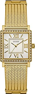 Guess Women's White Dial Stainless Steel Band Watch - W0826L2
