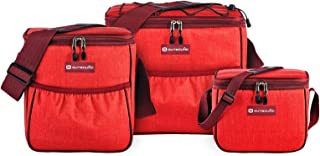 Outbound Soft Cooler   Portable 3-Piece Set for The Beach and Camping   Includes Large 12 Can, Medium 9 Can, and Small Lun...