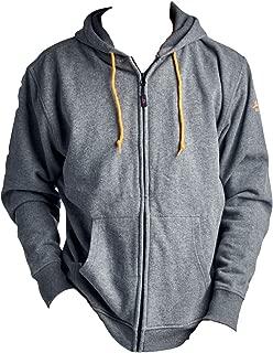 Duran 5v/2a(Power Bank) Heated Hoodie: Full-Zip Hooded Fleece Sweatshirt (Hoodie)