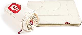 zizzz Nórdico 220x240 cm - Transpirable e increíblemente Suave - Edredón 4 Estaciones con Relleno de Lana Swisswool (290 g/m2) - Edredón año