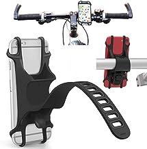 Agoz Phone Bike Mount Holder, Bicycle Motorcycle Stroller Handlebar Compatible Apple iPhone 11, 11 Pro, 11 Pro MAX, XS XR X, iPhone 8 Plus, iPhone 8, iPhone 7 Plus, iPhone 7, 6S Plus, 6S, 6, 5S, 5,SE