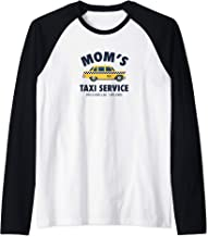 Mom's Taxi Service Funny Busy Parent Mother's Day Gift  Raglan Baseball Tee