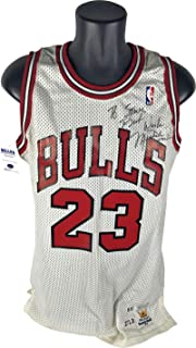 Michael Jordan Autographed Signed Game Used Worn 1988 Jersey Mears 10 Beckett Authentic