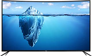 CTRONIQ 55-inch Curved 4K Smart LED TV with Built-in DVB-T2 Receiver, Black – 55CT5200