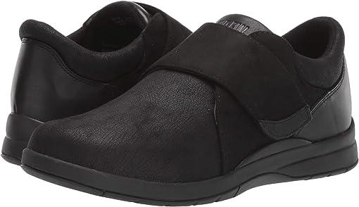 Black Stretch/Leather