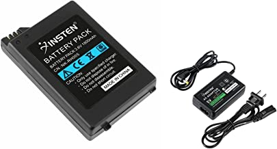 Insten 1800mAh Battery Pack +Wall Charger Compatible With Sony PSP 1000