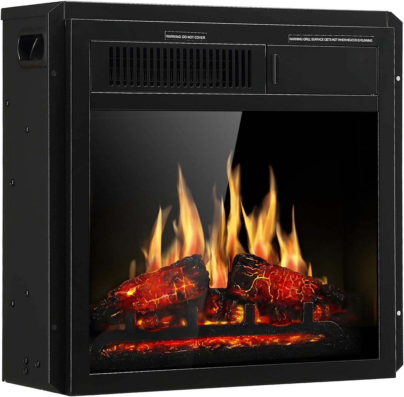 JAMFLY Electric Fireplace Insert 20