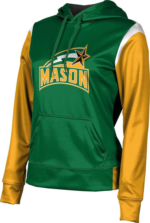 ProSphere George Mason University Girls' Pullover Hoodie, School Spirit Sweatshirt (Tailgate)