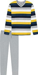 Schiesser Schlafanzug Lang Set di Pigiama Uomo