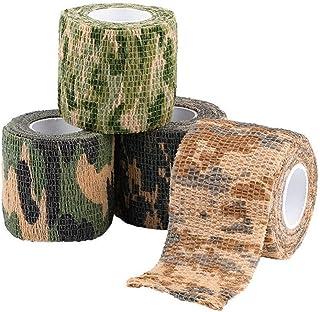 Ruban adh/ésif en tissu motif feuille d/érable 10/m/x 50/mm Tissu DPM.