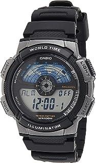 CASIO AE-1100W-1BVDF Digital Mens Watch, Black
