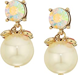 Betsey Johnson - Boardwalk Sweets Pearl Earrings