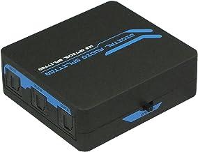 ラトック 2ch/24bit 96kHz、サラウンド対応 1入力3出力 光デジタル分配器(RP-OPTSP13)