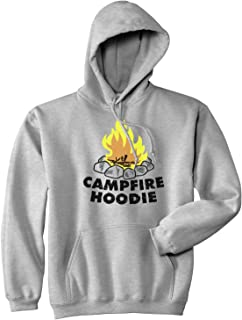 0274742f Crazy Dog T-Shirts Campfire Hoodie Funny Firewood Summertime Camping  Outdoor Hooded Sweatshirt