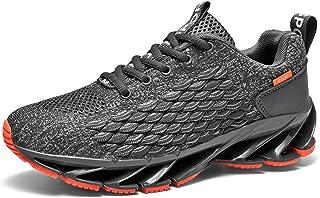 Youpin Jogging Uomini Scarpe Da Corsa Pesce Scala Lama Sport Sneakers Coppia Formatori Logo Personalizzato Imballaggio Per...