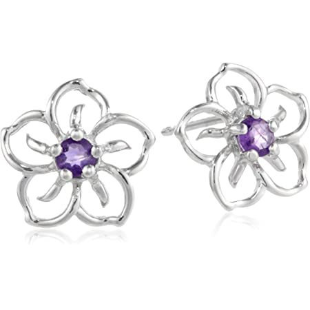 Flower Earrings Sterling Silver Clip On Earrings AF875 Earrings The Silver Plaza Baltic Amber Earrings