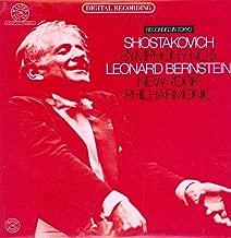 Leonard Bernstein - Shostakovich - Symphony No. 5 - CBS - DGT 6000 - Canada - Insert NM/NM LP